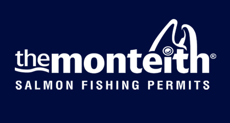 The Monteith Scottish Salmon Fishing Permits logo