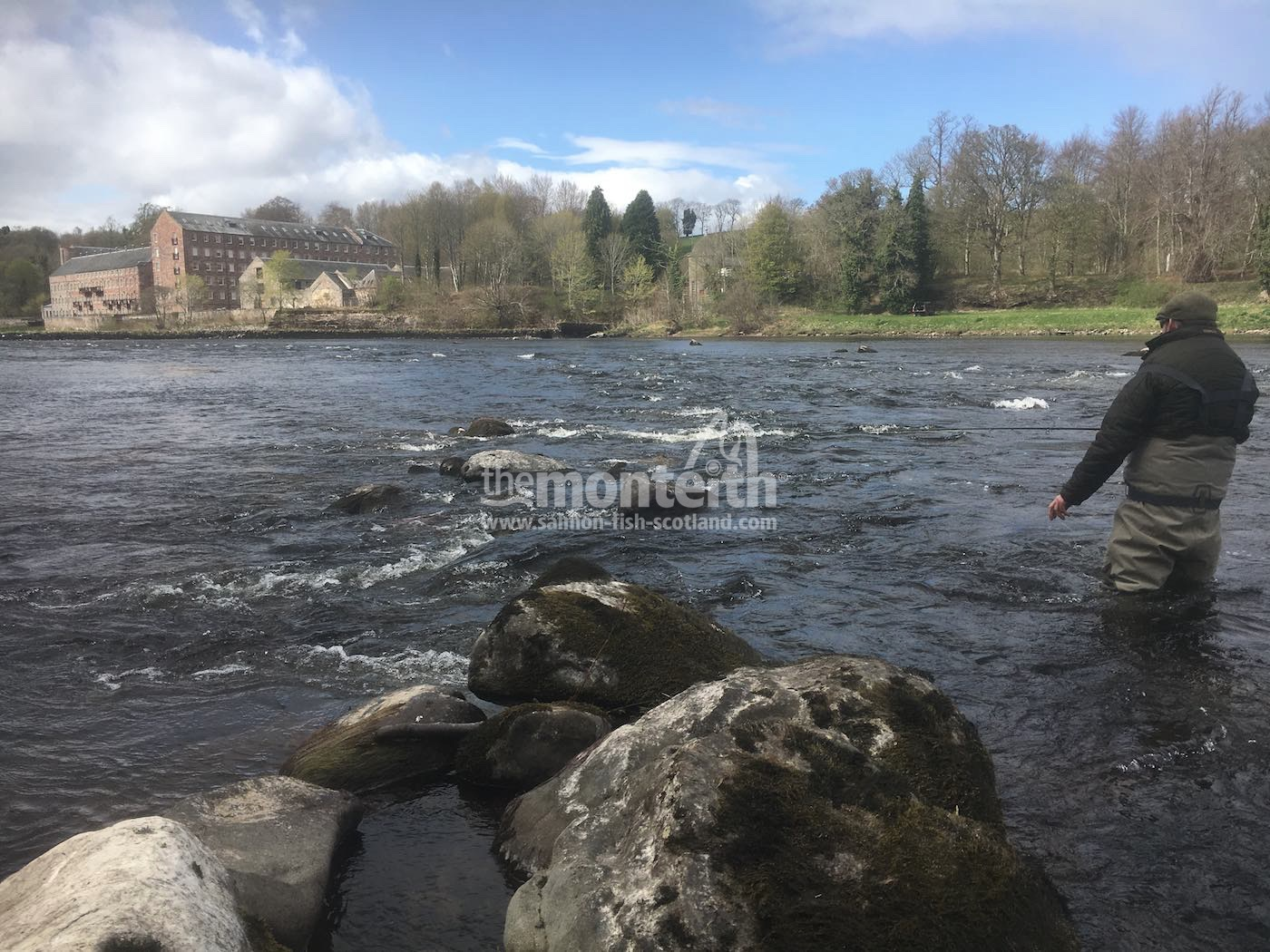 Pitlochrie Beat River Tay 30