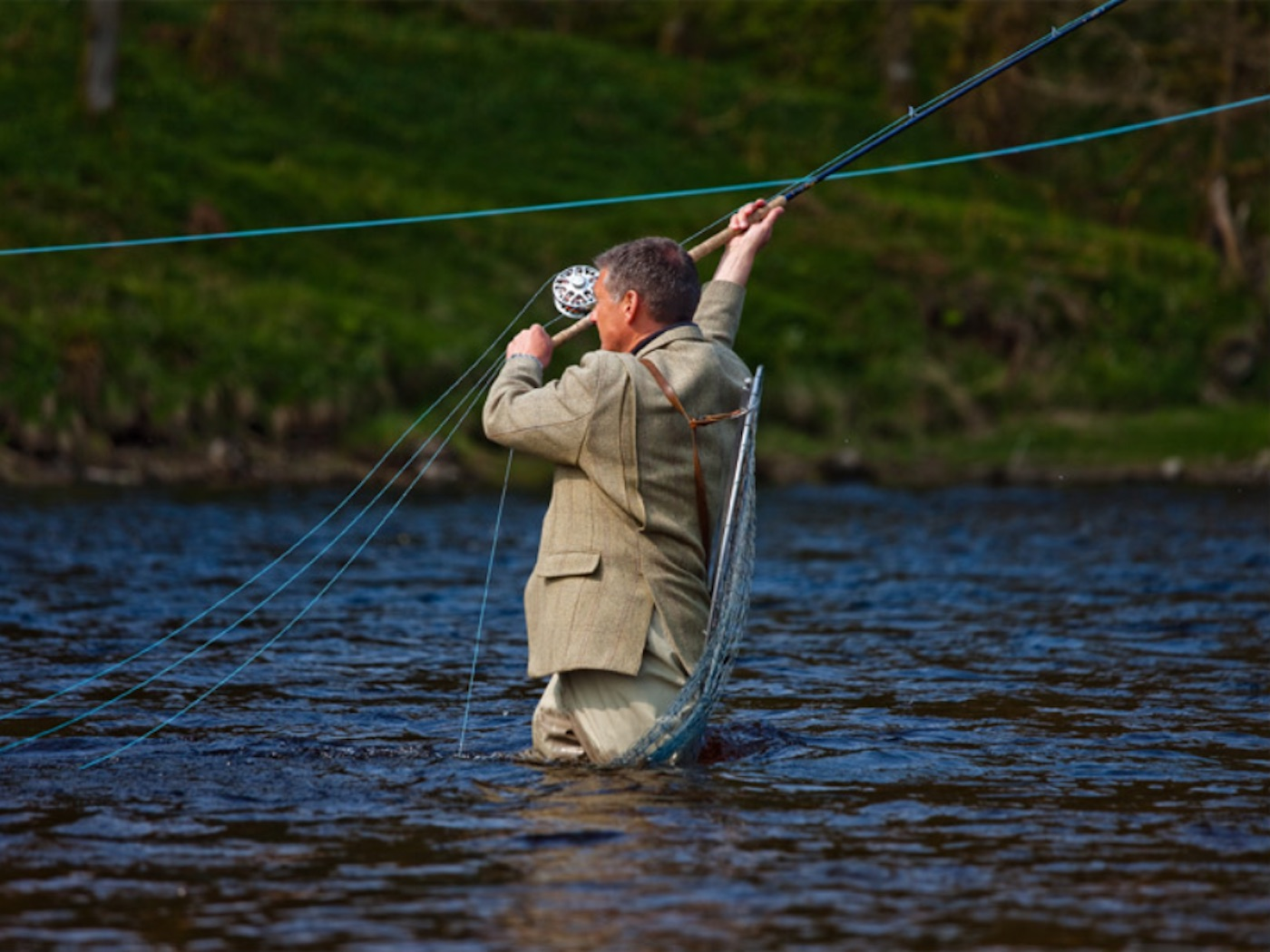Speycasting tuition scotland for How much is a one day fishing license