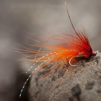 Salmon Fly Waggle & Sparkle