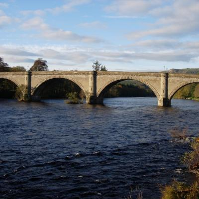 The Telford Bridge In Dunkeld