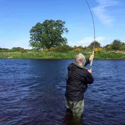 The Left Hand Spey Cast
