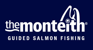 The Montieth Scottish Salmon Fishing logo
